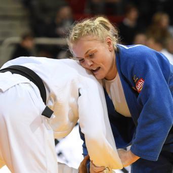 Luise Malzahn beim Grand Slam in Düsseldorf 2019