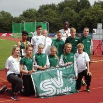 Deutsche Meisterschaften in der Leichtathletik U16 in Bremen