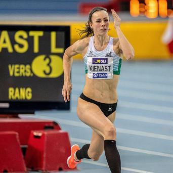 Kienast holt Bronze bei den deutschen Leichtathletik-Hallenmeisterschaften in Leipzig