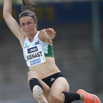 Lucie Kienast auf Platz 5 bei den DM in Braunschweig 2020