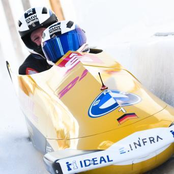 Alexander Schüller mit Weltcup-Sieg im Zweierbob von St. Moritz 2021