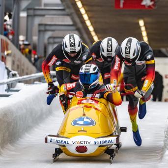 Margis und Schüller im Bobteam Friedrich auch in Innsbruck erfolgreich
