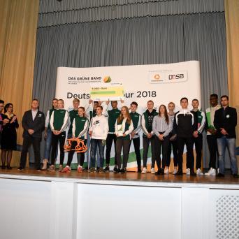 Das Grüne Band 2018 für SV Halle Leichtathletik - Talente