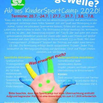 KinderSportCamp 2020 SV Halle