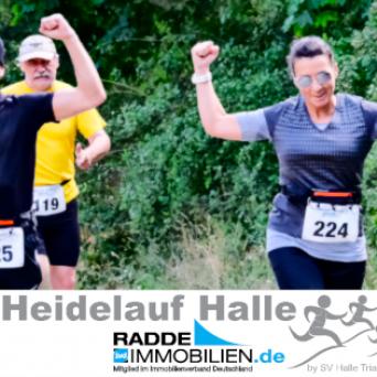SV Halle Abteilung Triathlon - Heidelauf 2020