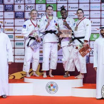 Luise Malzahn kämpft sich zu Silber beim Grand Slam in Abu Dhabi