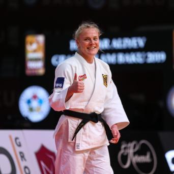 Luise Malzahn gewinnt Grand Slam in Baku (Aserbaidschan) 2019