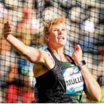 Nadine Müller wird Siebente beim Diamond-League-Finale in Brüssel 2018