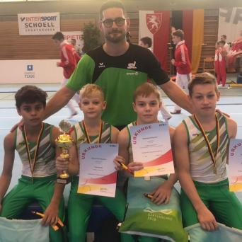 Nachwuchsturner holen Deutschland-Pokal