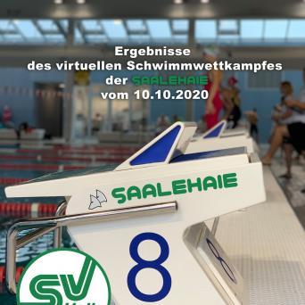 Erster virtueller Schwimmwettkampf der Saalehaie 2020
