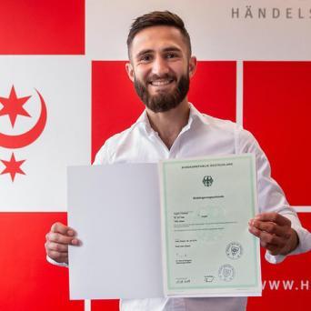 SV Halle-Boxer Argishti Terteryan erhält endlich deutschen Pass