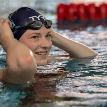 Lena Riedemann bei den Junioren-Weltmeisterschaften in Budapest 2019