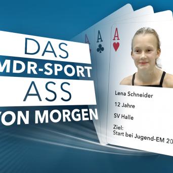 Wasserspringerin Lena Schneider ist unser MDR-SPORT-ASS von Morgen