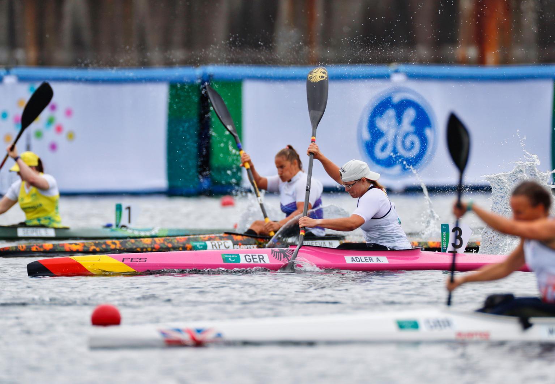 "Anja Adler (SV Halle) gibt alles: ""Florian Schwarzbach / DBS"""